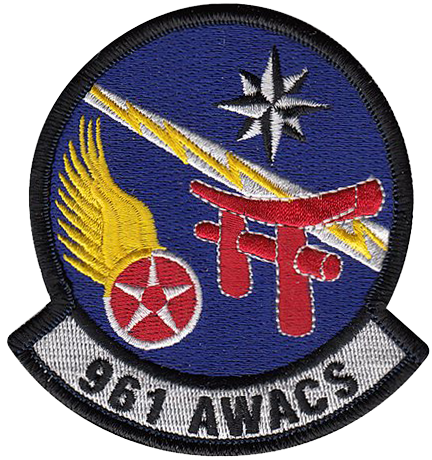 961st Airborne Warning and Control Squadron