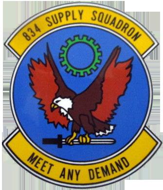 834th Supply Squadron
