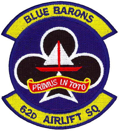 62nd Airlift Squadron  - Blue Barons