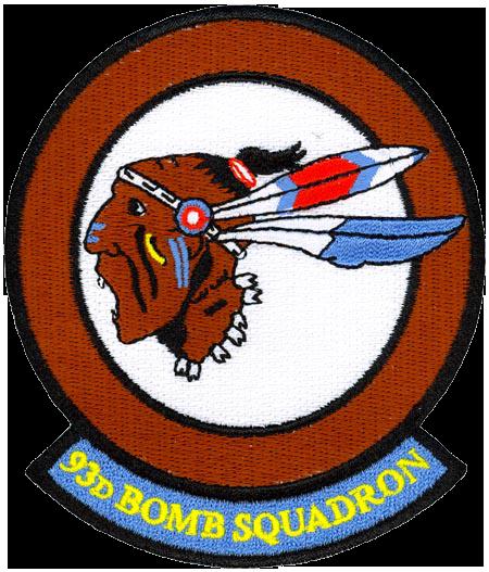 93rd Bombardment Squadron, Very Heavy