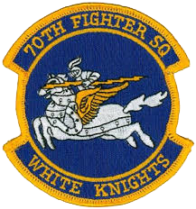 70th Fighter Squadron  - White Knights