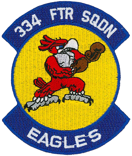 334th Fighter Squadron  - Fighting Eagles
