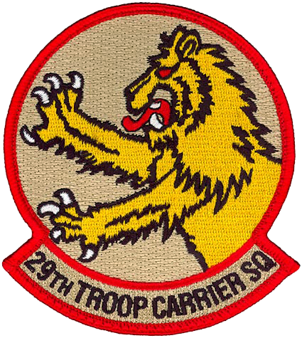 29th Troop Carrier Squadron, Medium