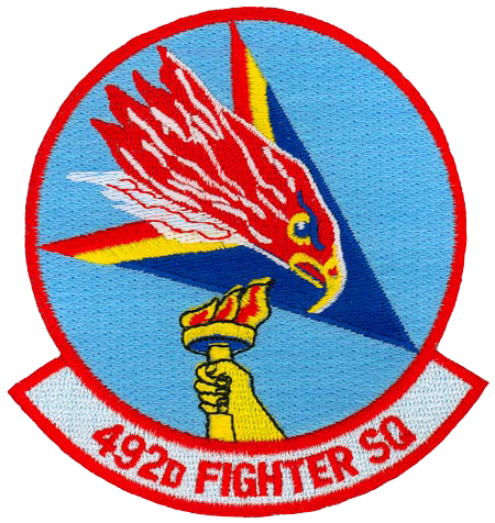 492nd Fighter Squadron - Madhatters