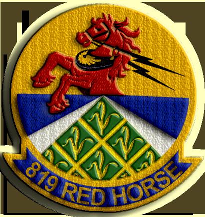 819th Civil Engineer Squadron, Heavy Repair - Red Horse
