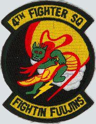 4th Fighter Squadron - Fightin' Fujins