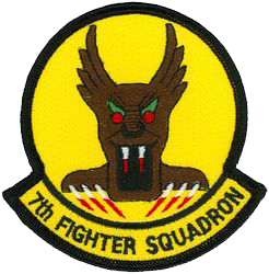 7th Fighter Squadron  - Screamin' Demons