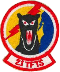 21st Tactical Fighter Training Squadron (Cadre)