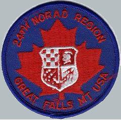 24th NORAD Region, North American Aerospace Defense Command (NORAD)