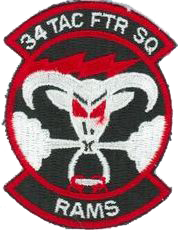 34th Tactical Fighter Squadron - Rams