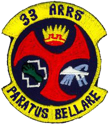 33rd Aerospace Rescue and Recovery Squadron