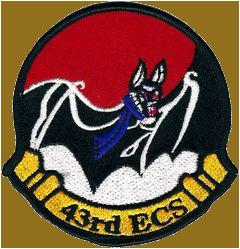 43rd Electronic Combat Squadron - Bats
