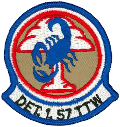 57th Tactical Training Wing Detachment 1, 57th Tactical Training Wing