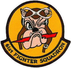 61st Fighter Squadron  - Zemke's Wolfpack