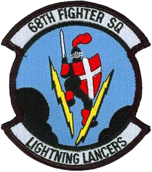 68th Fighter Squadron  - Lightning Lancers
