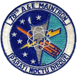 78th Armament and Electronics Maintenance Squadron