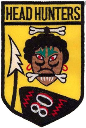 80th Fighter Squadron - Headhunter