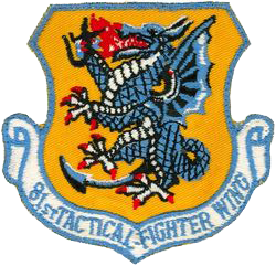 81st Tactical Fighter Wing