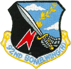92nd Bombardment Wing, Heavy