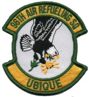 96th Air Refueling Squadron - Screaming Eagles