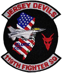 119th Fighter Squadron  - Jersey Devils