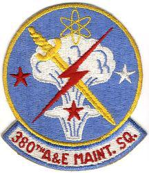 380th Armament and Electronics Maintenance Squadron