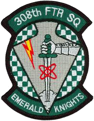 308th Fighter Squadron  - Emerald Knights