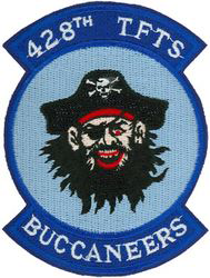 428th Tactical Fighter Training Squadron (Cadre) - Buccaneers