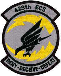 429th Electronic Combat Squadron - Black Falcons