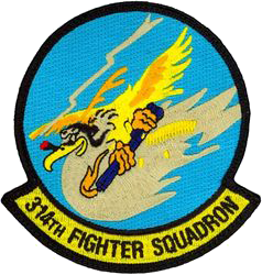 314th Fighter Squadron  - Warhawks
