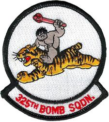 325th Bombardment Squadron, Heavy