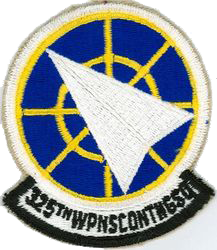 325th Weapons Controller Training Squadron (Cadre)