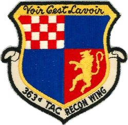 363rd Tactical Reconnaissance Wing