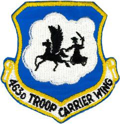 463rd Troop Carrier Wing