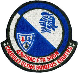 476th Tactical Fighter Squadron