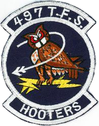 497th Tactical Fighter Squadron - Night Owls