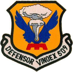 509th Bombardment Wing, Medium