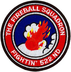 522nd Fighter Squadron  - Fireballs