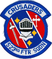 523rd Fighter Squadron - Crusaders