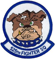 525th Fighter Squadron  - Bulldogs