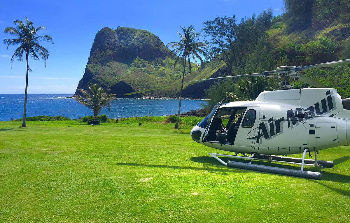 Ocean View Landing: West Maui & Moloka'i Flight