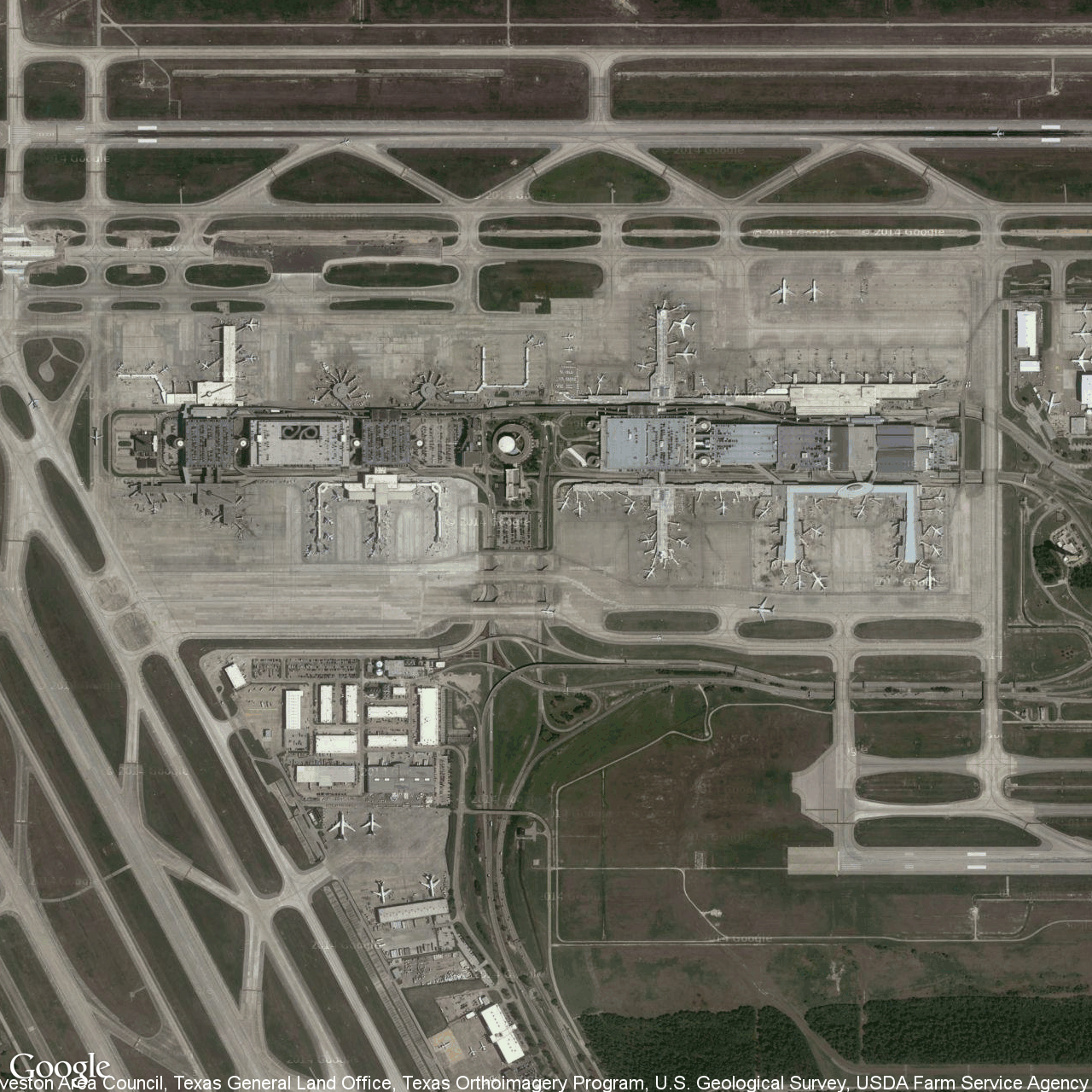 George Bush Intercontinental/houston