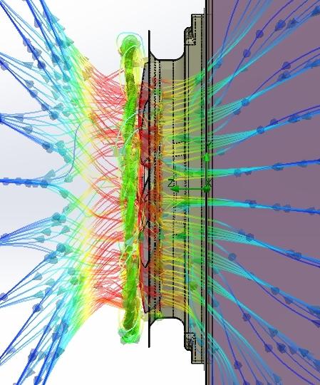 Vee capabilities - fan flow