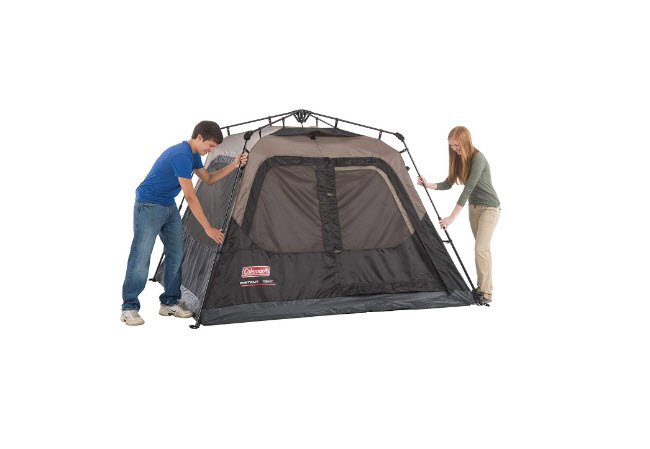 Coleman Cabin Tent Coleman Instant 4 Person Cabin Tent