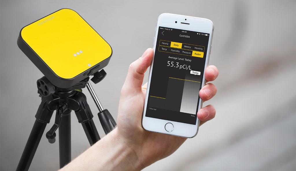 Corentium Pro: Radon Detector with Mobile Reporting
