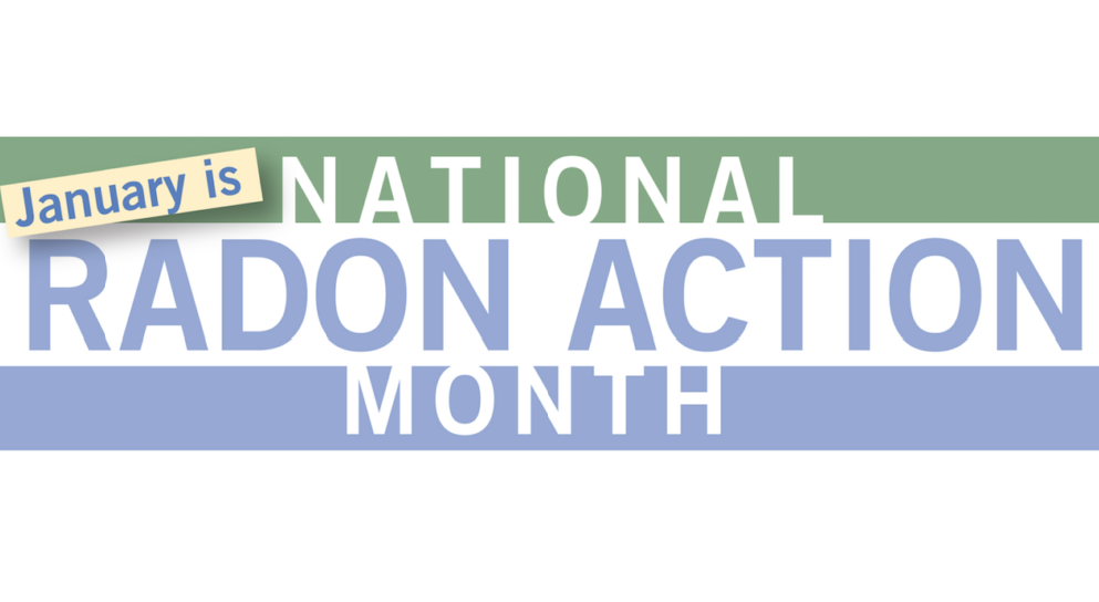 Radon Action Month: Reducing Radon Risk