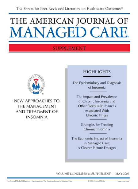 New Approaches to the Management and Treatment of Insomnia