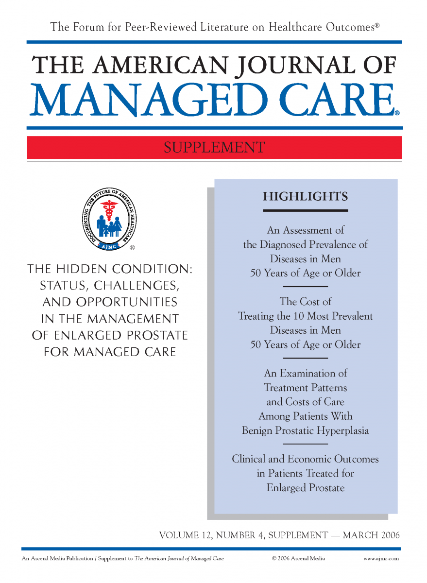 The Hidden Condition: Status, Challenges and Opportunities in the Management of Enlarged Prostate for Managed Care