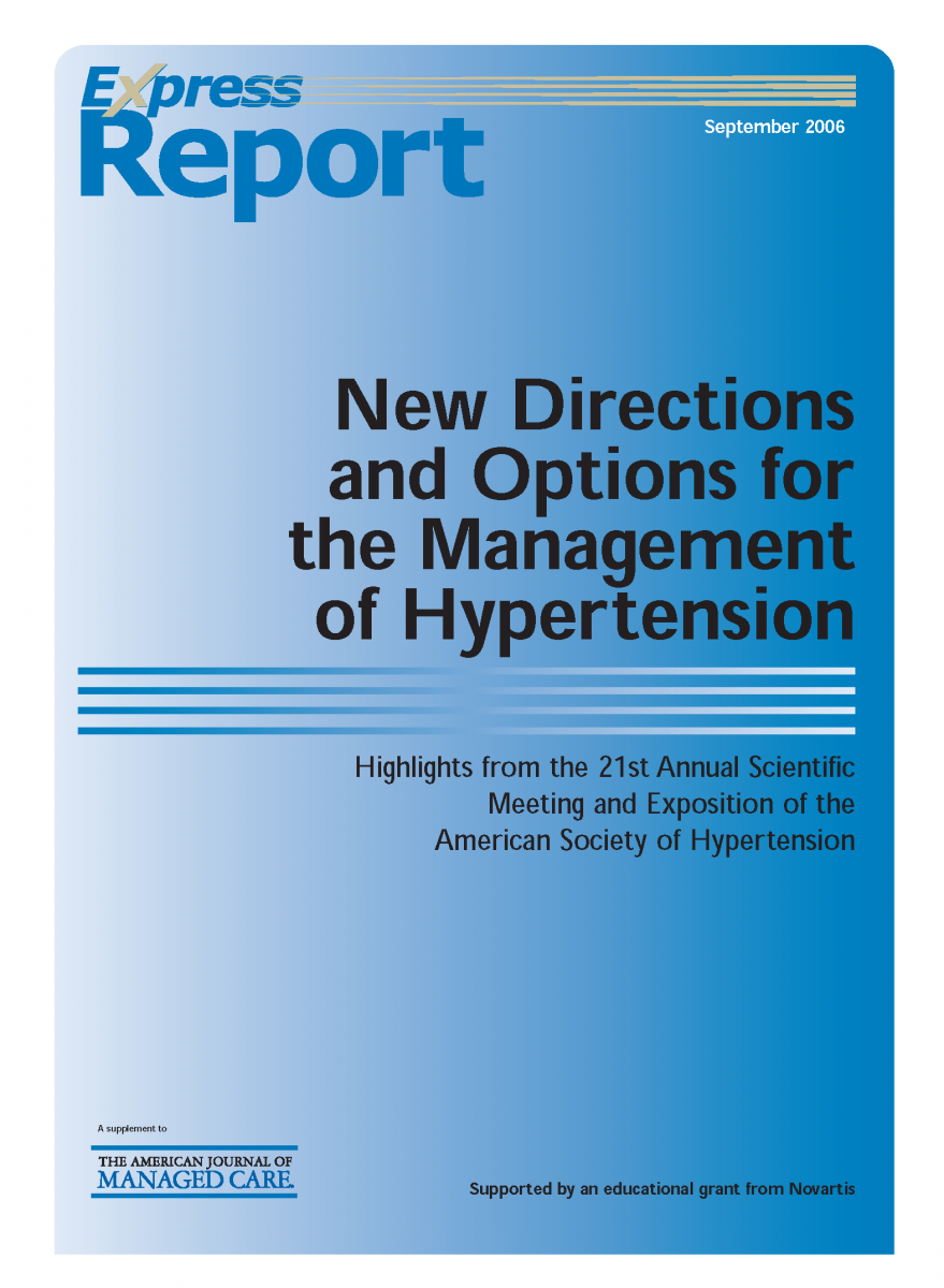 Express Report - New Directions and Options for the Management of Hypertension