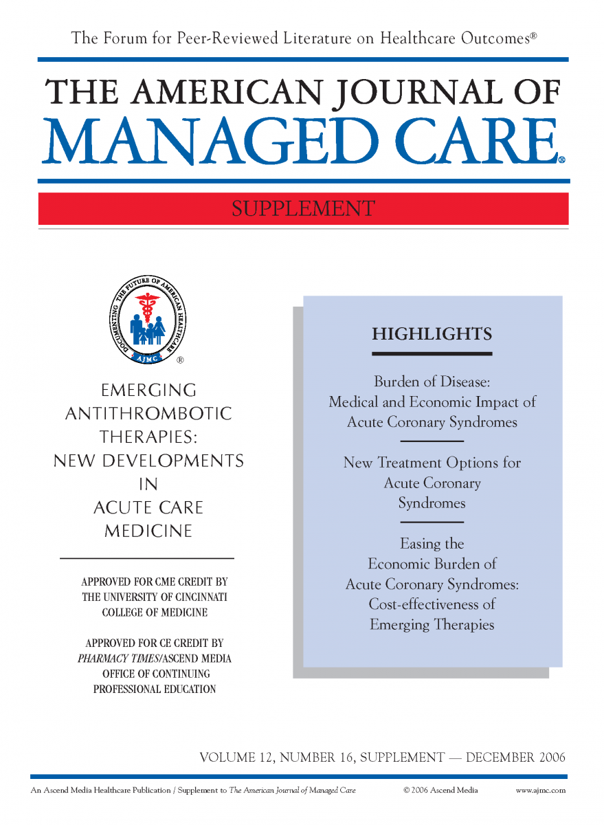 Emerging Antithrombotic Therapies: New Developments in Acute Care Medicine
